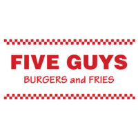 Five Guys Is A 50s Inspired Restaurant Made Distinct By Its Red White Checkered Counters And One Main Counter For Ordering Food
